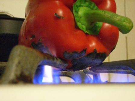 roasting redpepper