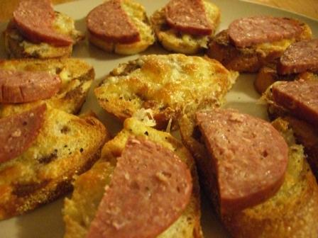 SausageCrostini