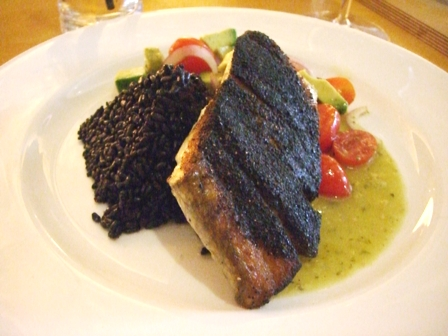 Blackened Snapper