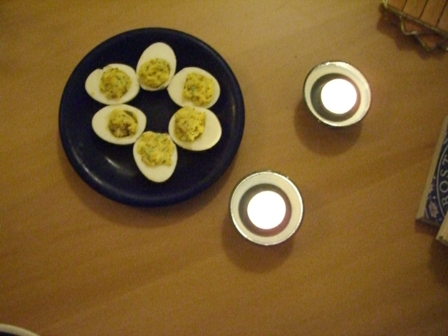 Devilish Deviled Eggs