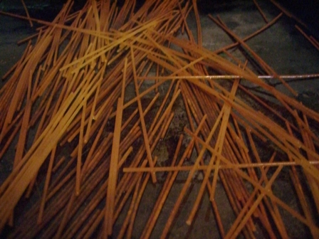 Toasted spaghetti