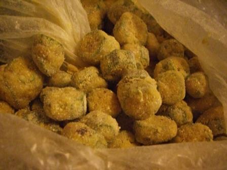 how to make fried okra with cornmeal