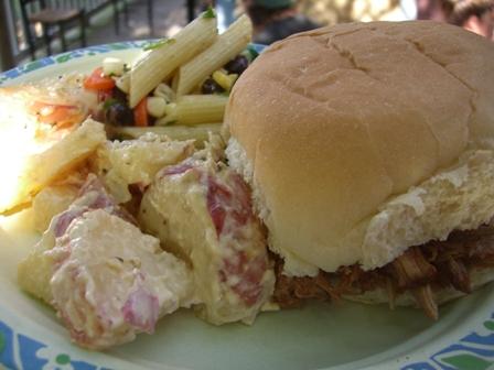 Plate o' food
