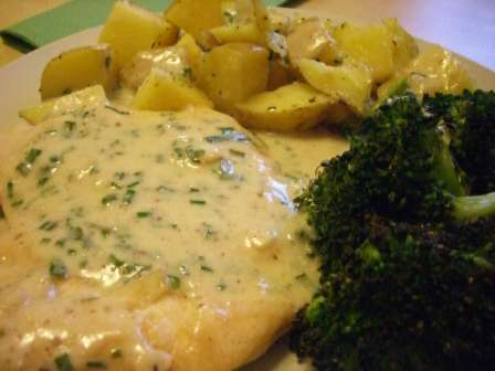 Creamy Chive Chicken