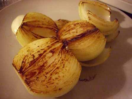 Browned onions