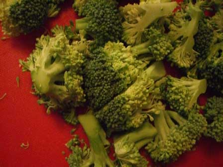 Choppin' broccoli