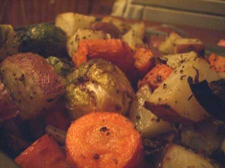 Mustard Roasted Vegetables