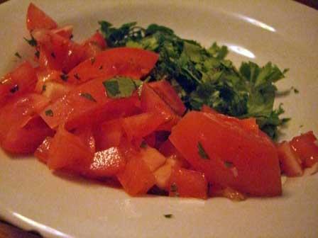 Tomatoes andCilantro