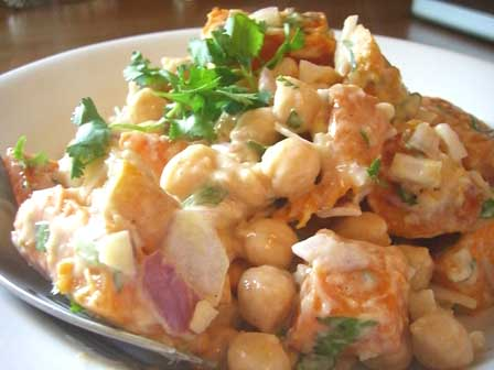Butternut squash and chickpeas