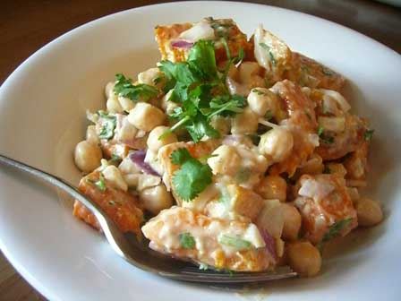 Roasted Butternut Squash and Chickpea Salad